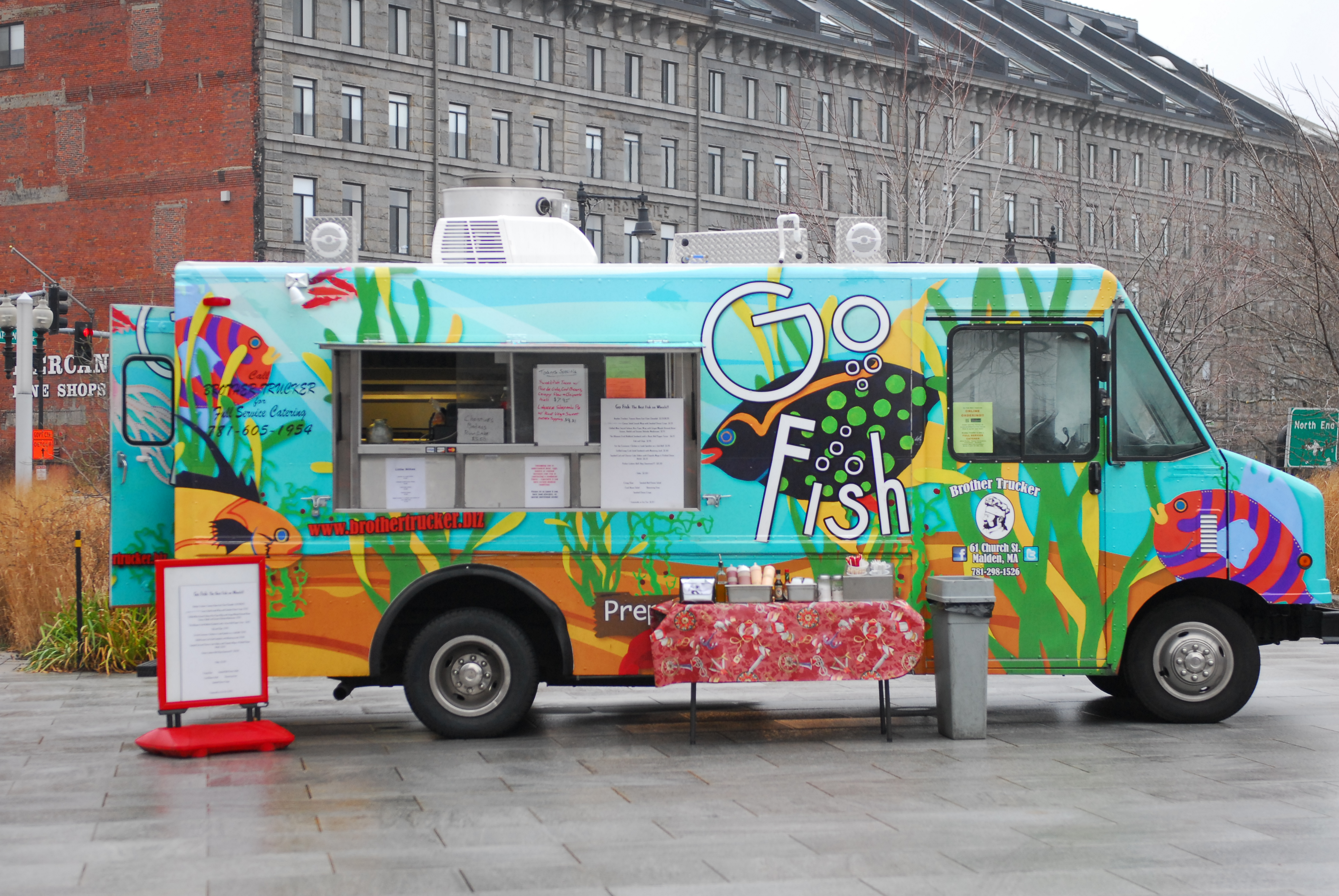 Chef On The Go Food Truck