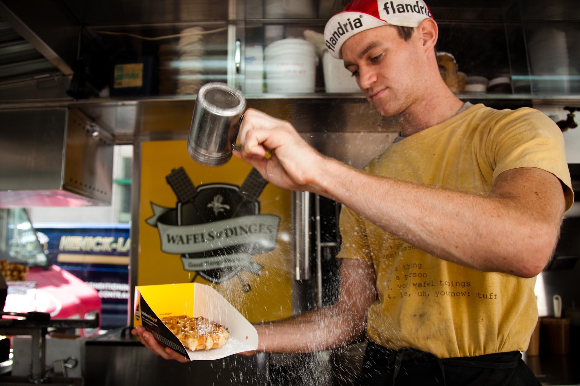 Featured Food Truck – Wafels & Dinges | Roaming Hunger