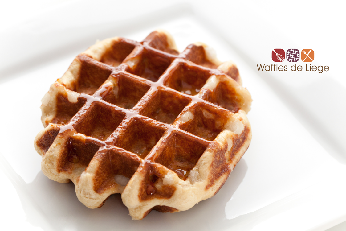 It's not your ordinary waffle, light and fluffy, topped with a ...