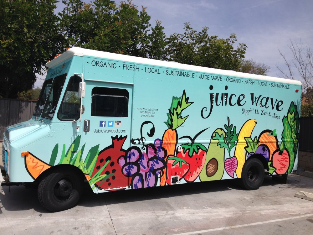 Truck Blue Book >> Juice Wave Truck, San Diego: Healthy Ingredients for a ...