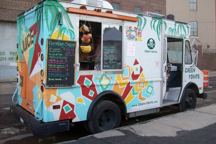 Green Pirate Juice Truck Photo Cred: Green Pirate