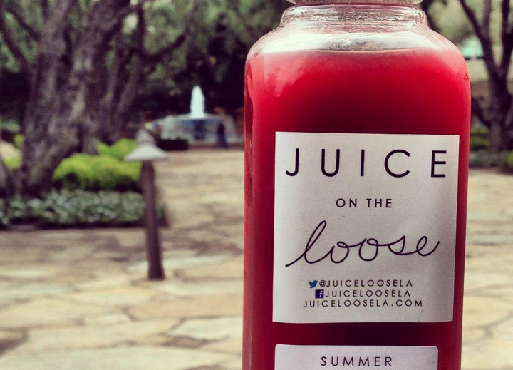 Summer Watermelon, Cucumber and Mint Juice Photo Cred: Juice on the Loose