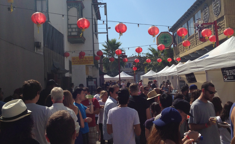 Rib Fest Crowd