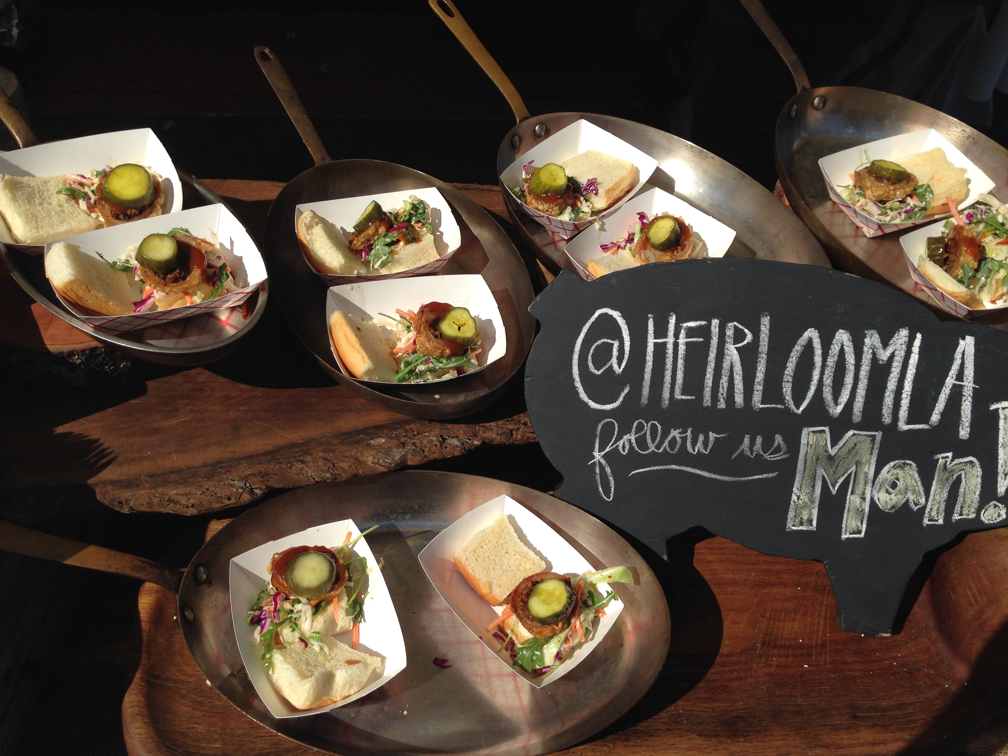 Heirloom LA Sandwiches  Photo Cred. Roaming Hunger