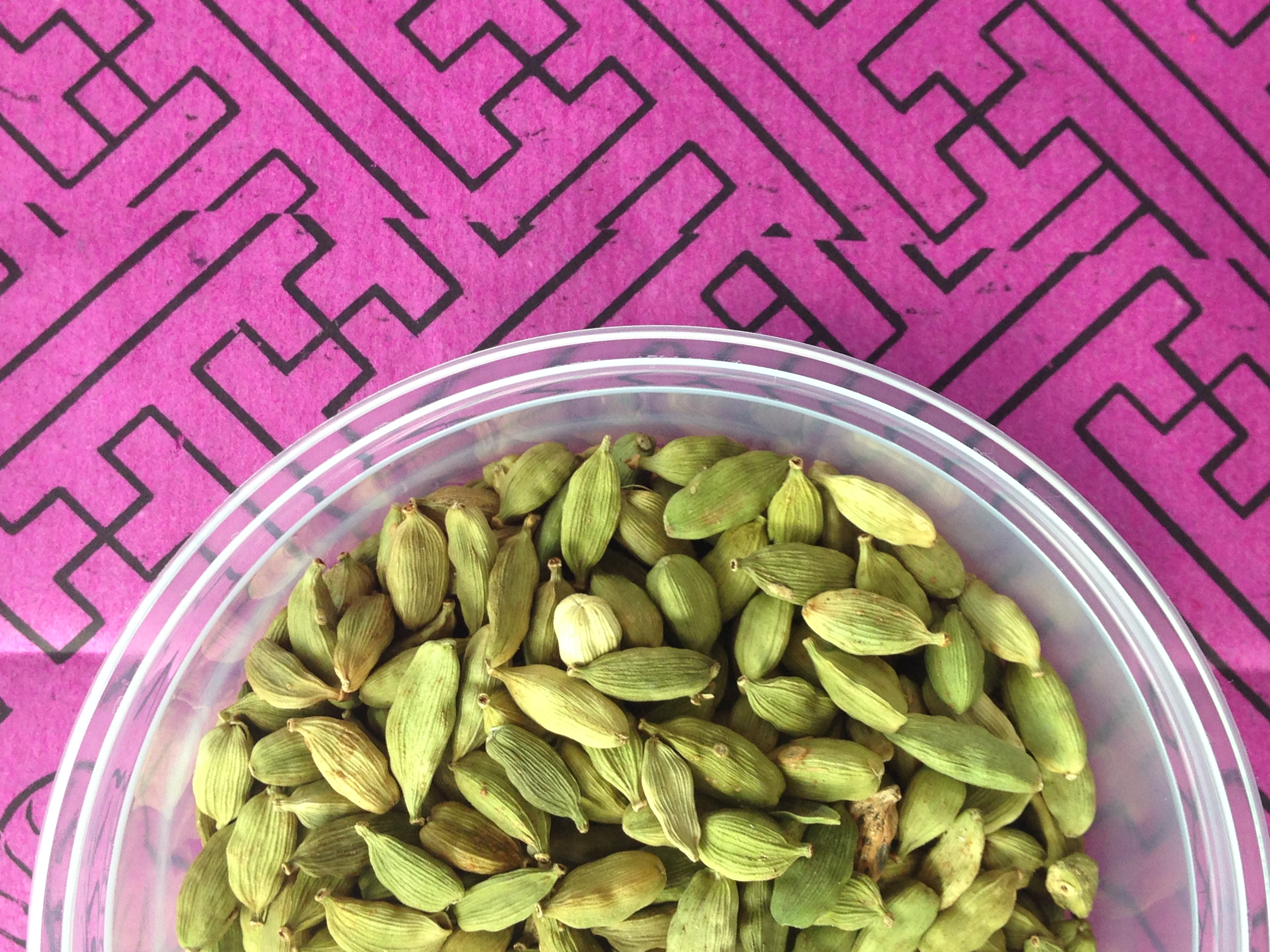 Cardamom, a spice used through out the film Photo Cred.: Roaming Hunger