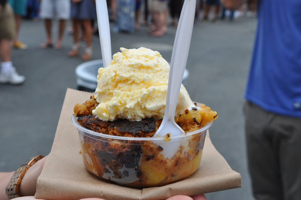 Heavenly Delight Peach Cobbler Photo Cred. RH