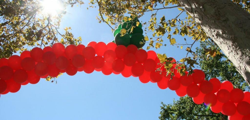 Electronic Sriracha Festival Ballons