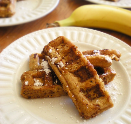 Banana Waffle French Toast Sticks