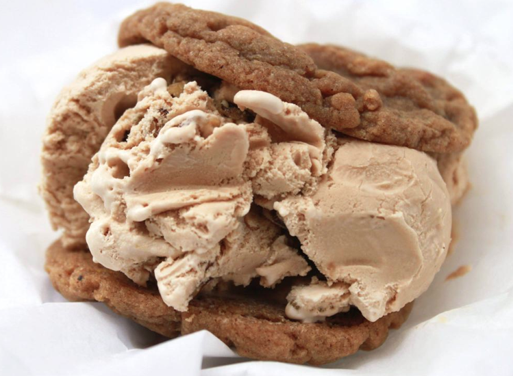 Chunk n' Chip - Pumpkin Spice Cookie w/ Eggnog Bourbon & Toffee Ice Cream