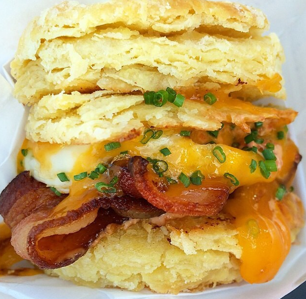 Bacon & Egg Biscuit