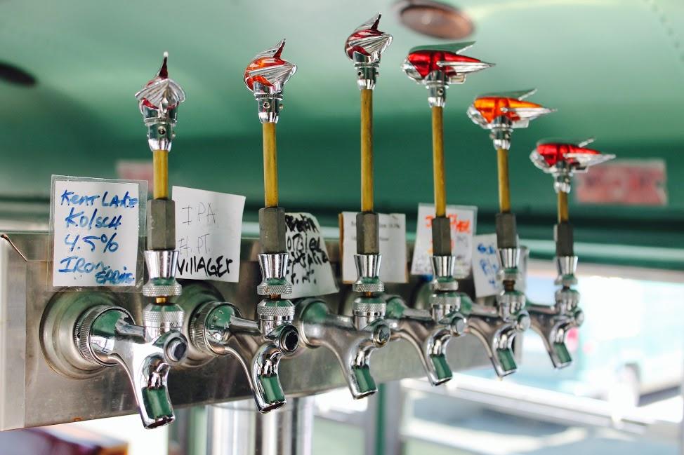 the brew truck beer taps