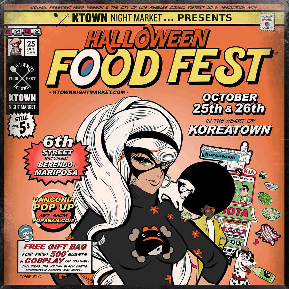 KTOWN Night Market Halloween Food Fest