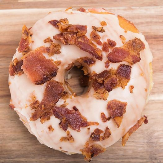Astro Doughnuts - Maple Bacon Donut