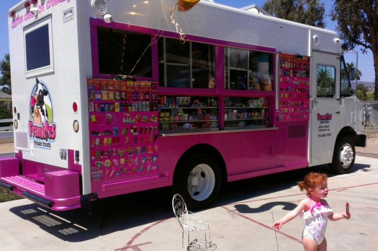 Frankies Frozen Treats Truck