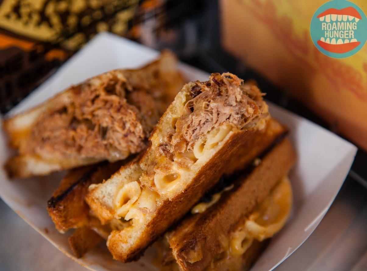 The Grilled Cheese Truck - Cheesy Mac & Rib Melt