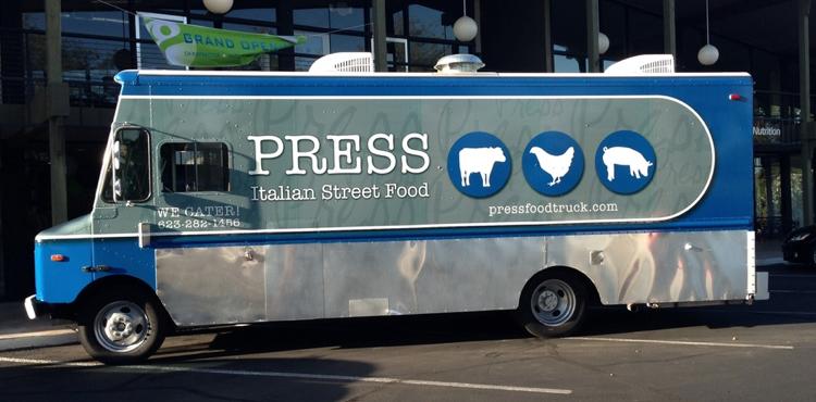 Press Italian Street Food Truck