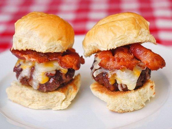 BBQ Bacon Cheddar Slider