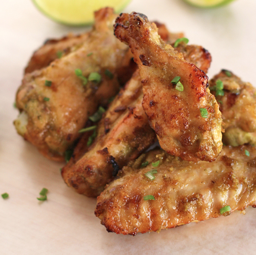 Jalapeño Lime Chicken Wings