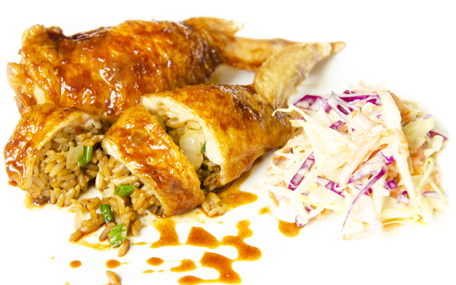Bochi Truck - Chicken Stuffed w/ Fried Rice