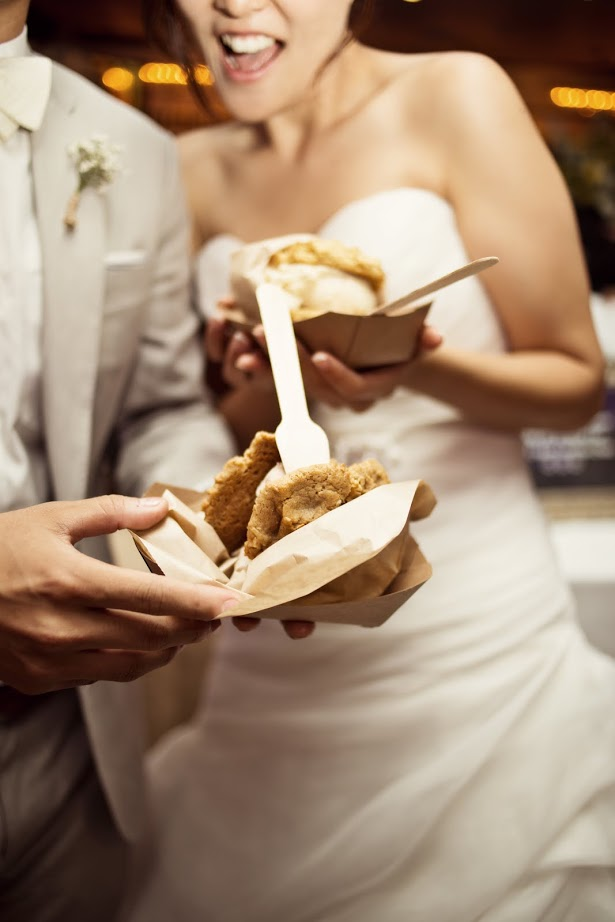 Chunk n' Chip catered Wedding