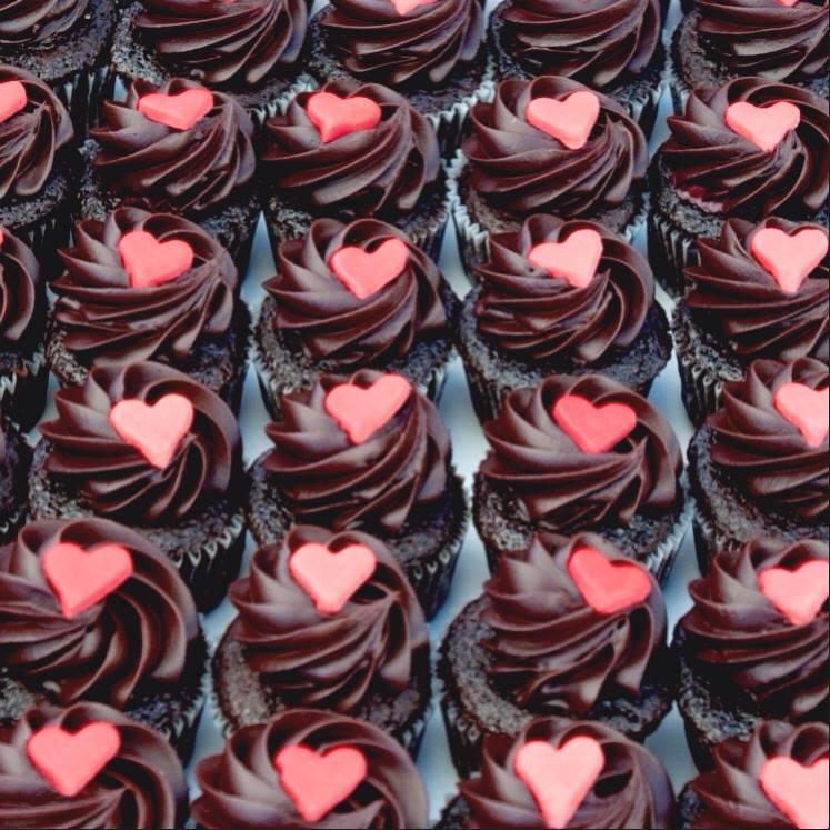 Kara's Cupcakes - Valentine's Day Cupcakes