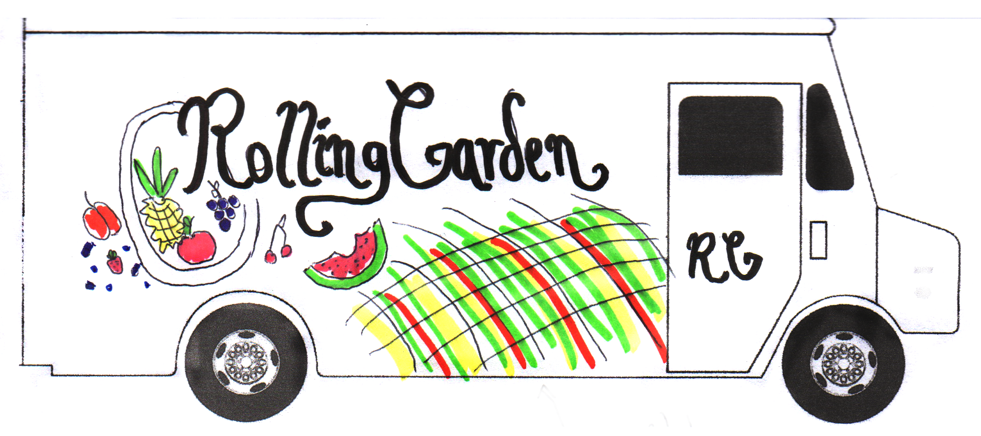 Design your own food truck roaming hunger for Food truck blueprint