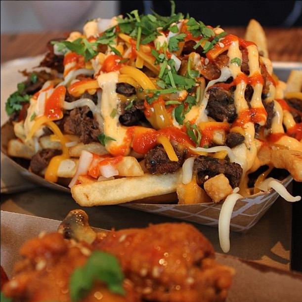 Chi'lantro - Kimchi Fries