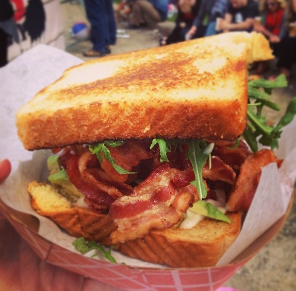Fat Shallot BLT Sandwich