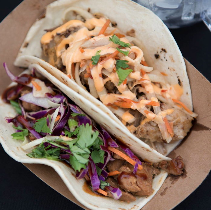 The Peached Tortilla - Banh Mi & Chinese BBQ Tacos