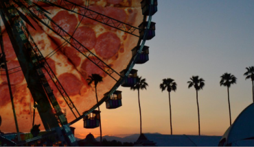 Coachella Pizza Wheel