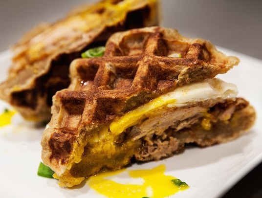 Bruch Boy's Truck - Chicken and Waffle Sandwich