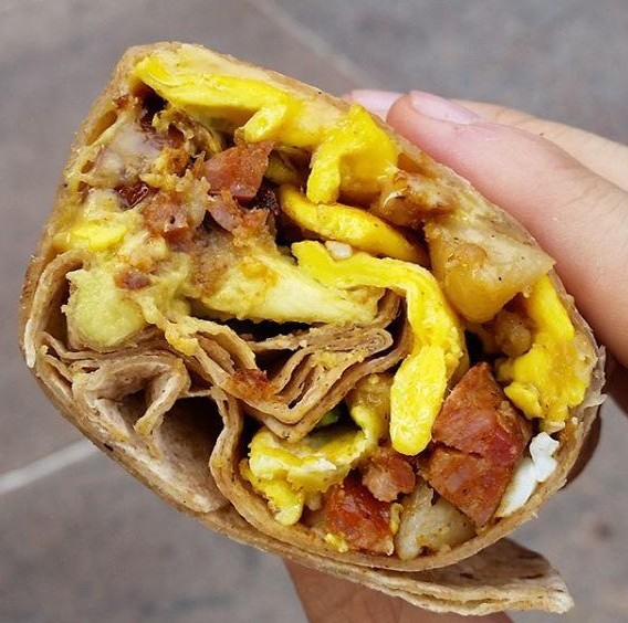 Eggs Travaganza - Mexican Wrap