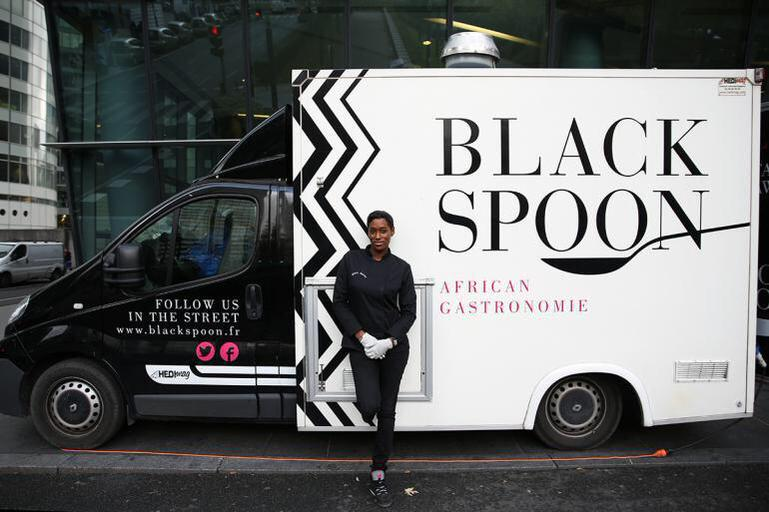 Black Spoon Truck