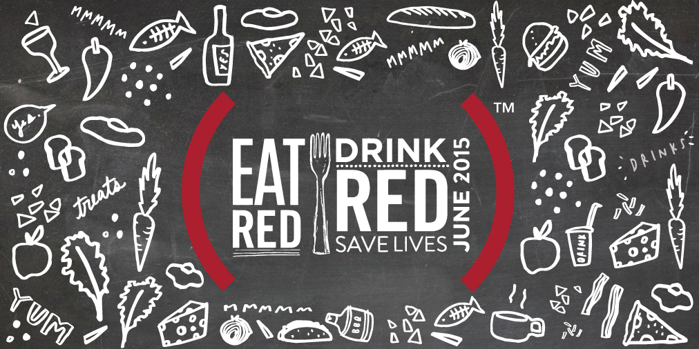 Eat Red Drink Red Campaign