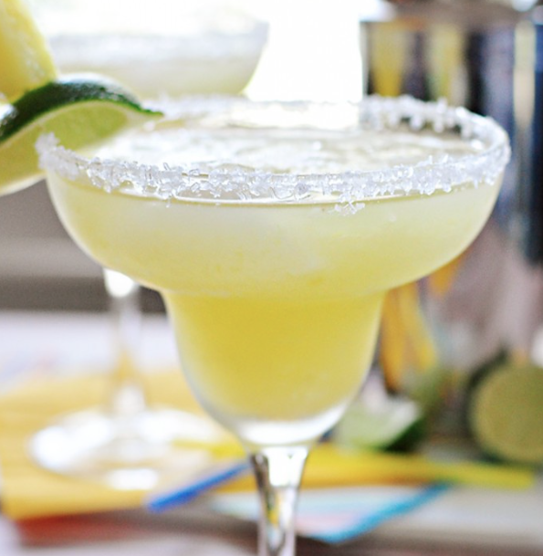 Pineapple Margaritas via Love Grows Wild