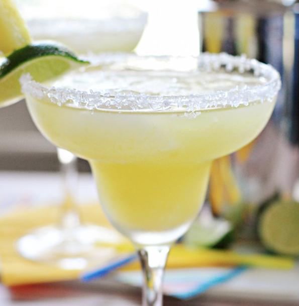 Pineapple Margaritas via Love Grows Wild