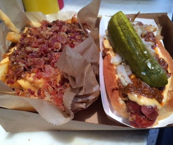 The Greasy Wiener -Bomb Dog & Bomb Fries