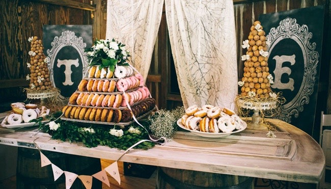 Donut Bar U2013 Via Green Wedding Shoes