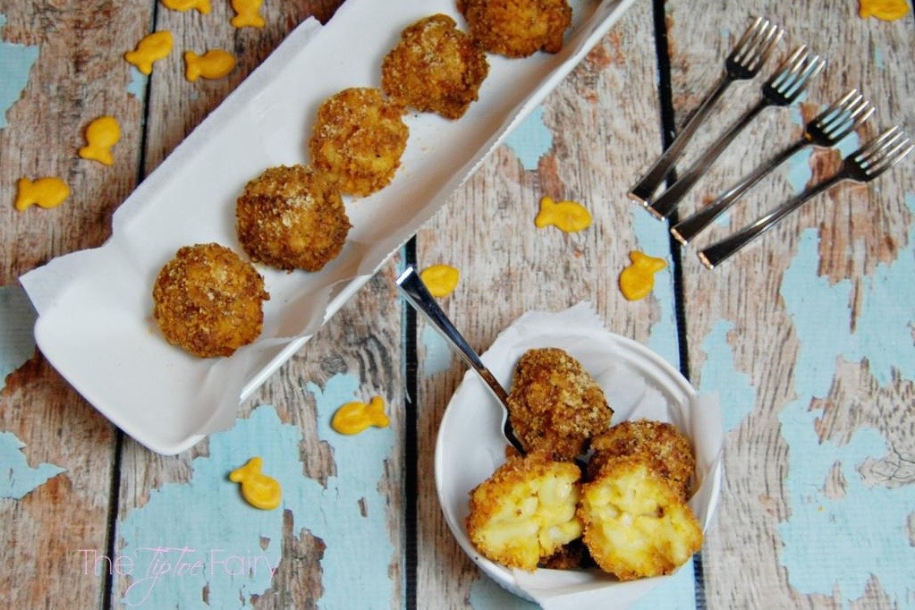 Goldfish Mac n' Cheese Balls