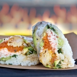 Rice Balls of Fire - Hollywood Sushi Wrap
