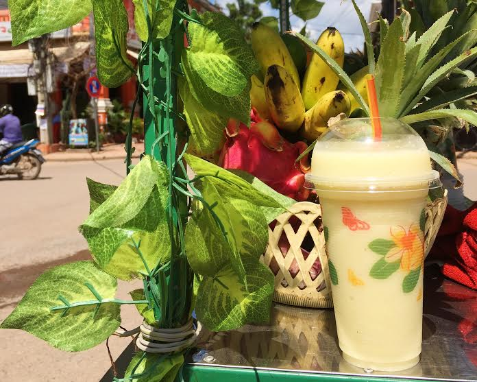 Cambodia Street Food - Smoothie