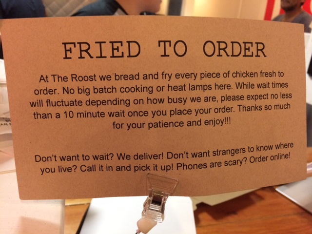 fried to order