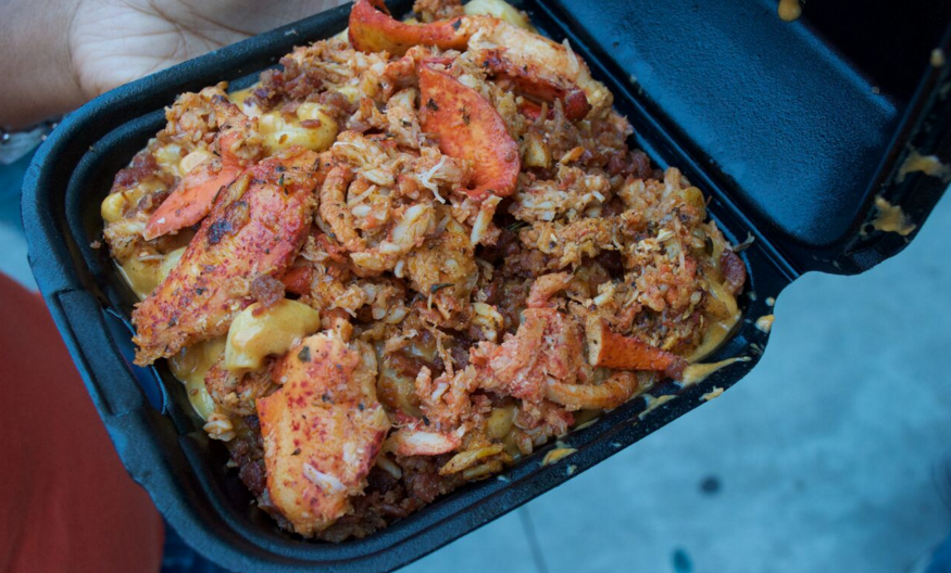 LA Street Kitchen - Lobster Mac n' Cheese