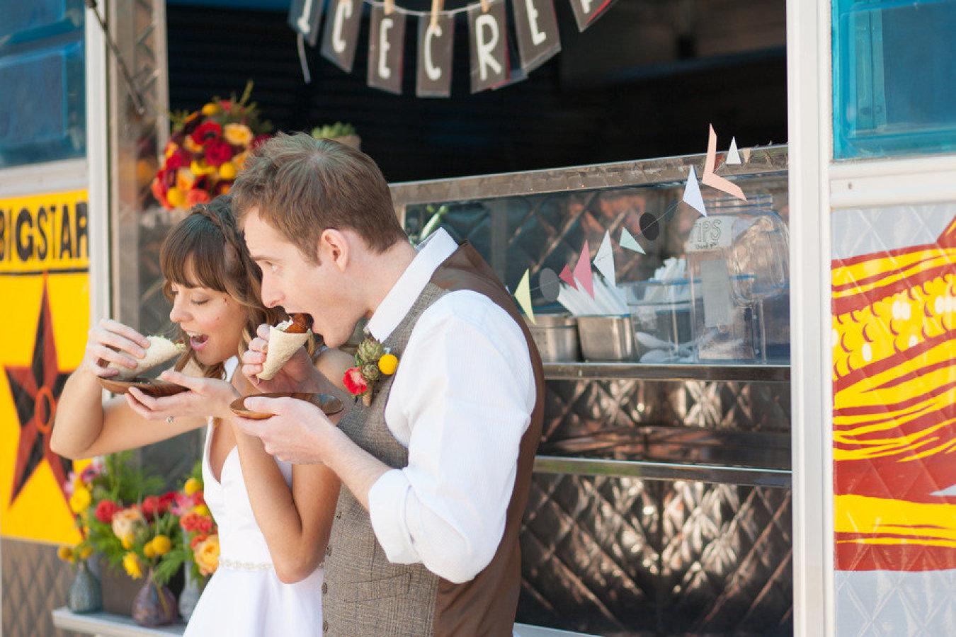 Taco Truck Wedding
