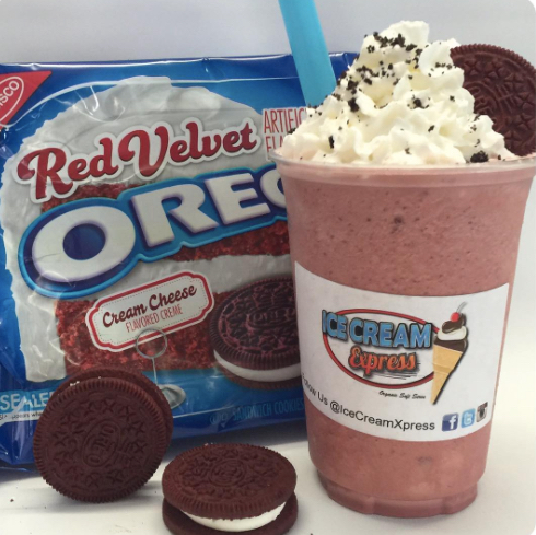 Ice Cream Express Truck - Red Velvet Oreo Milkshake