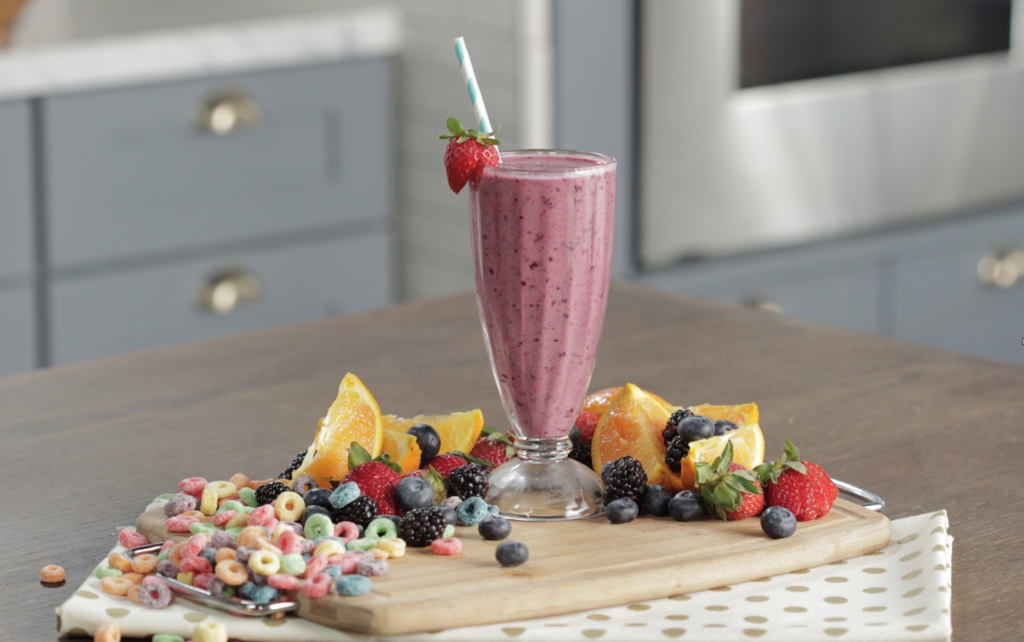 breakfast cereal smoothie