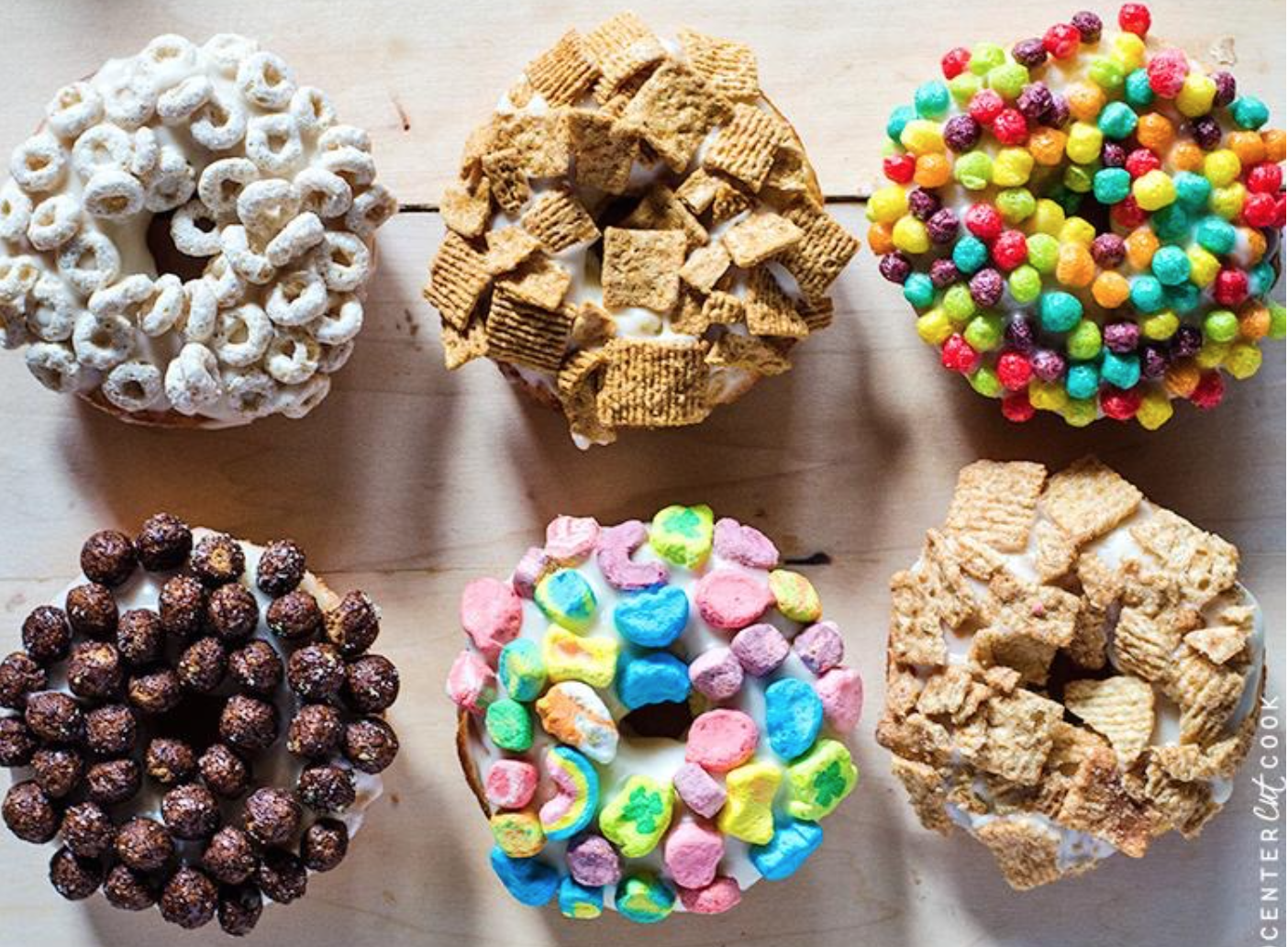 Breakfast Cereal Donut