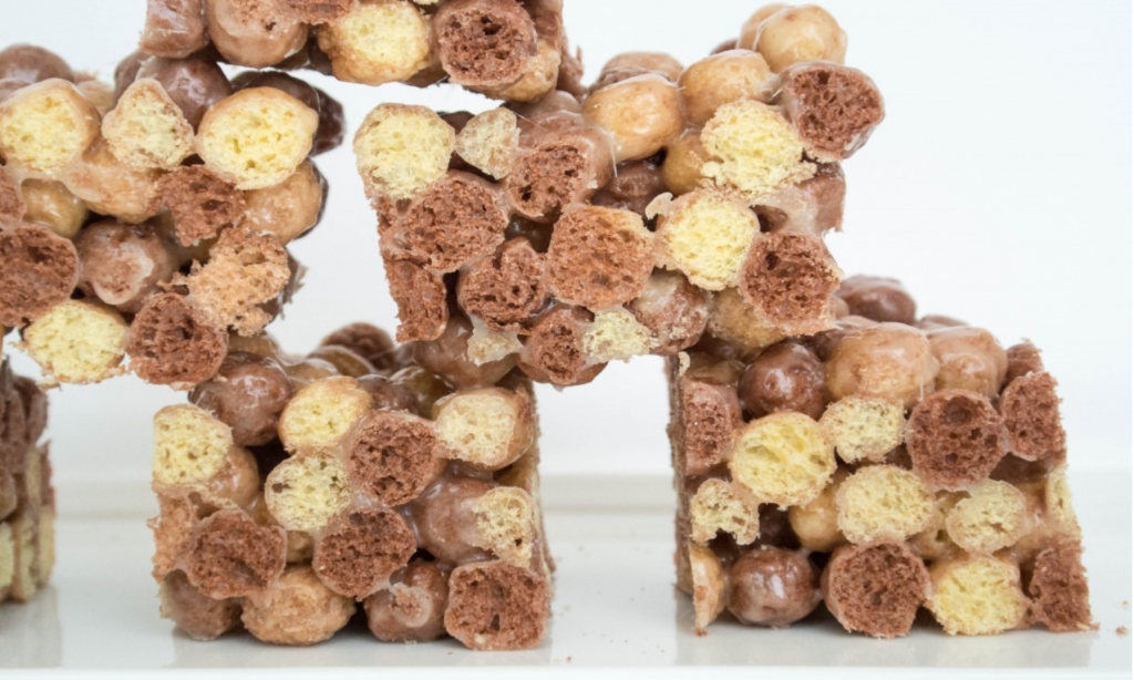 Reeses Puffs Krispie Treats