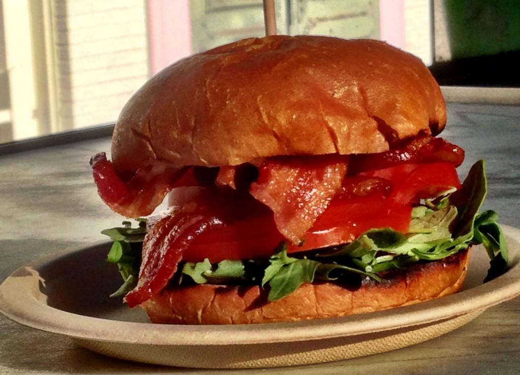 Farm To Truck Lamb Burger
