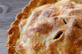 Apple pie, piping hot from the oven